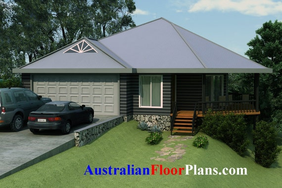 Small House Design On Sloped Land