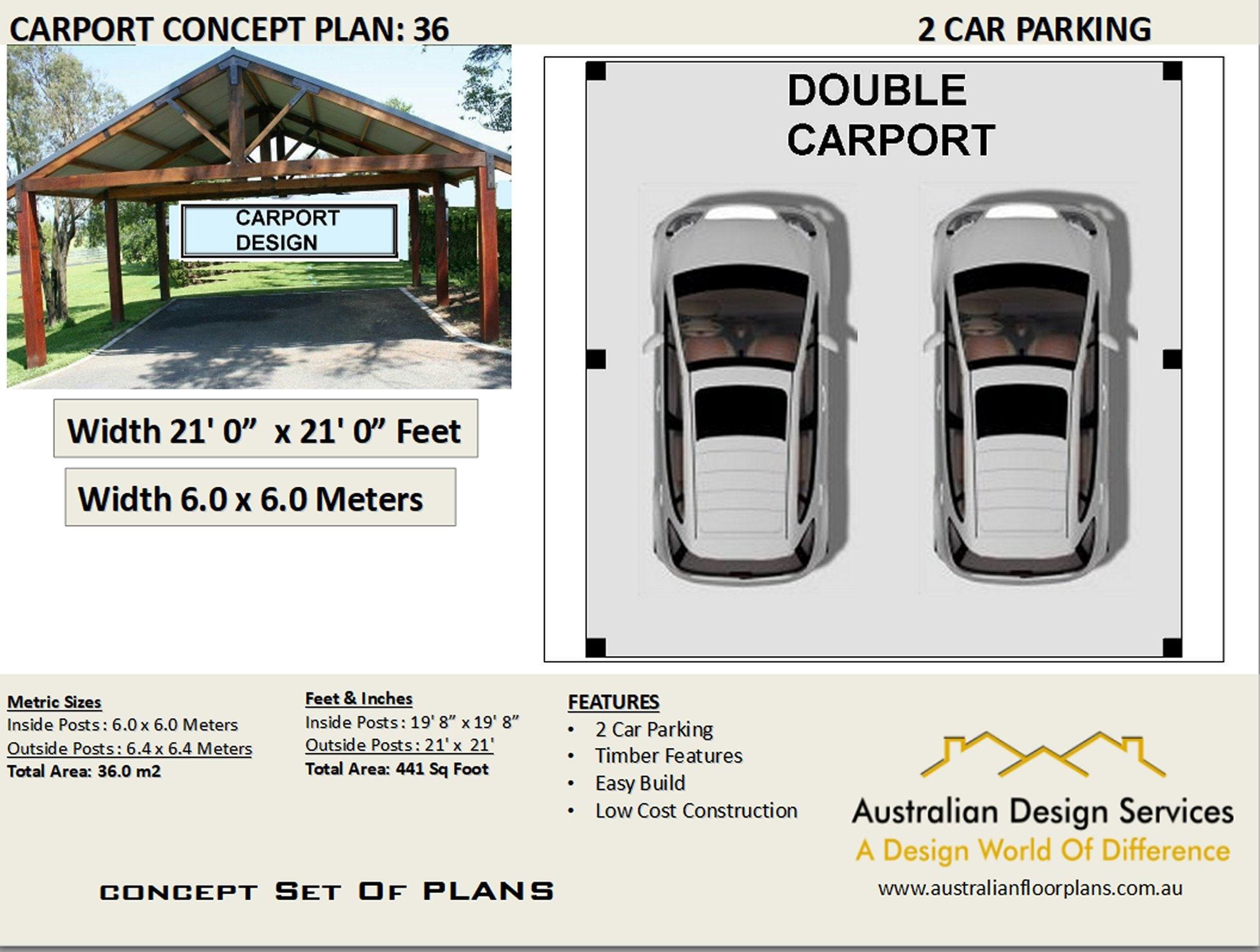 Double Carport Plans 2022