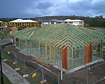DJI-0006-House Frame | Timber Frame  | Buy This Photo Here  | Ideal for Website, Promotion, Editioral , advertising, promotion,