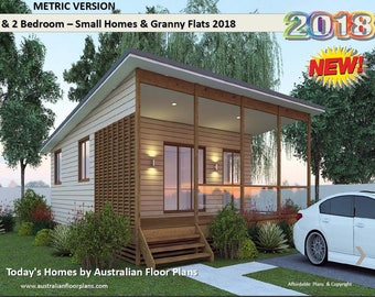Small Houses & Granny Flats Home Design Book -Australian and International Home Plans