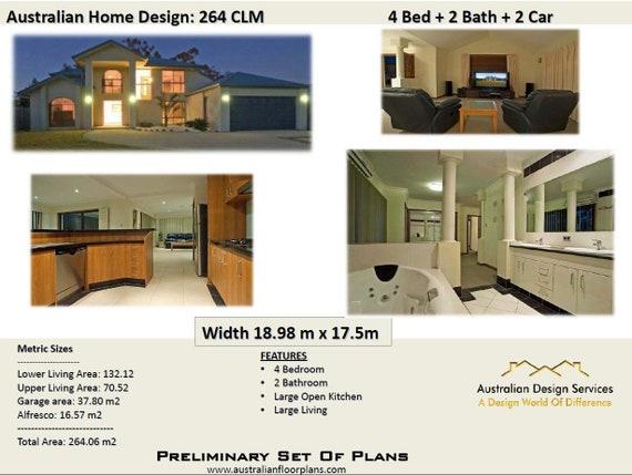 264 M2 4 Bed Double Garage 2 Storey House Design Two Storey Home Plans 2 Story Home Modern 2 Storey Plans 2 Storey Blueprints