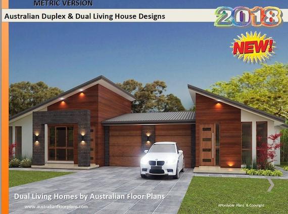 Best Seller 5 Star Duplex Home Designs Home Design Etsy