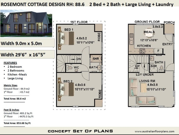 house plans | 2 Bedroom house plan Cottage | 2 Bed Cottage House Plan on very small house plans, modern house plans, bungalow house plans, small cottage house plans, kitchen house plans, luxury cottage house plans, two bedroom handicap house plans, sq ft. house plans, simple house plans, cute small house plans, 1bedroom house plans, 1 bedroom plans, country house plans, loft house plans, duplex house plans, 14 bedroom house plans, 5 bedroom house plans, north east facing house plans, floor plans, great room house plans,