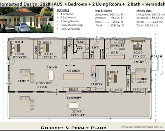 Country house plans | 4 Bedroom house plans |  Home Plans |  4 Bedroom  design |  4 bed floor plan | 4 bed blueprints | Homestead house plan