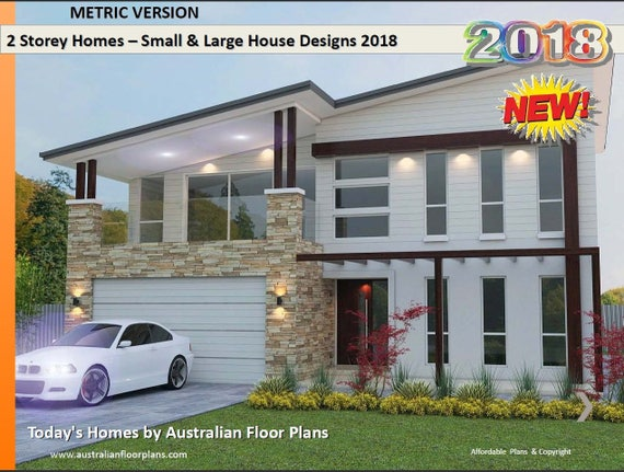 Distinctive 2 Storey Homes Designs Two Storey House Design | Etsy on home furniture, home layout, home builders, home blueprints, home painting, home renovation, home drawing, home color schemes, home tiny house, home building, home plan, home exteriors, home row, home interior, home wallpaper, home front, home decor, home style, home ideas, home symbol,