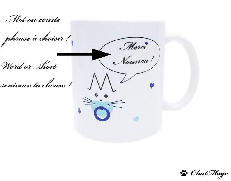 MugChatCadeau MamanNounouPersonnaliséFaire Part Noël NaissanceNaissance GarçonChatmage D29HWIEY