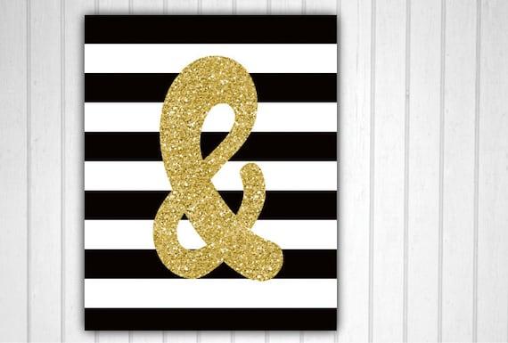 Ampersand And Symbol & Symbol Ampersand Decor Wall Decor | Etsy