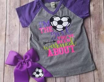 69e9fae08ae Cute girls soccer shirt, custom girls soccer shirt, youth soccer shirt,  sport shirts, soccer saying shirt, baby girl soccer shirt, soccer