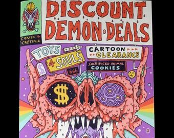Discount Demon Deals ZINE - Full Color comic book