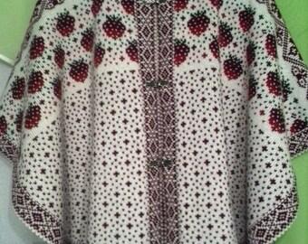 baby knit ponchos,baby  wool poncho, knitted poncho. stylish poncho. white poncho, woman coat, wool coat, woma