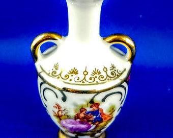 Limoges France Miniature Vase