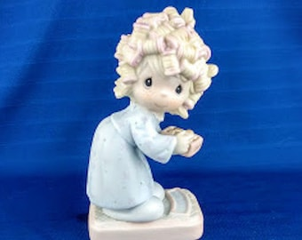 The Spirit Is Willing But The Flesh Is Weak Precious Moment Figurine