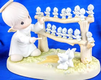Fifteen Happy Years What a Tweet Precious Moment Figurine