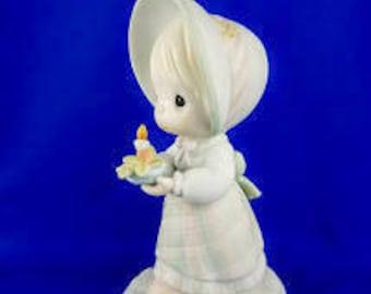 Calendar Girl - December Precious Moment Figurine