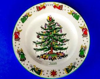 Spode Christmas Tree Annual Plate