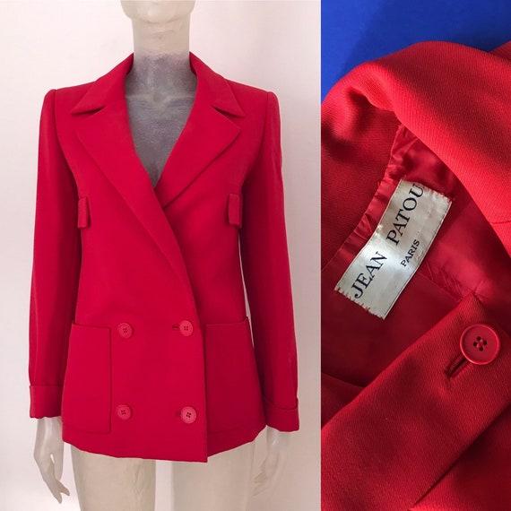 Jean Patou, couture 60s blazer