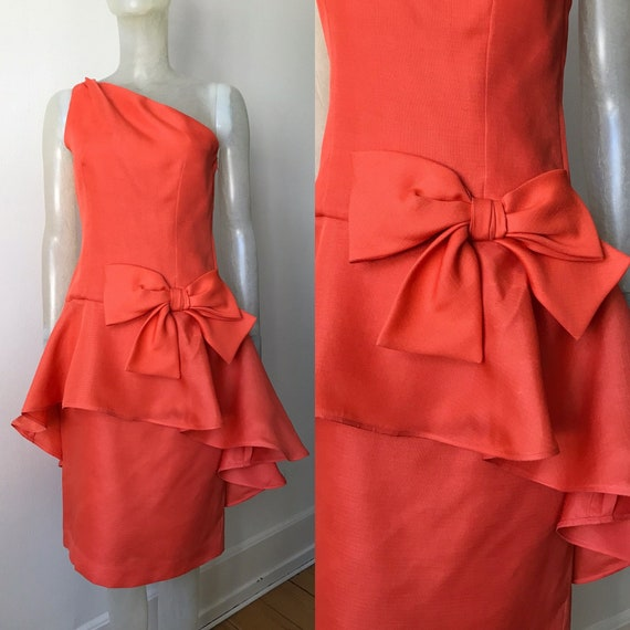 Guy Laroche, vintage silk dress