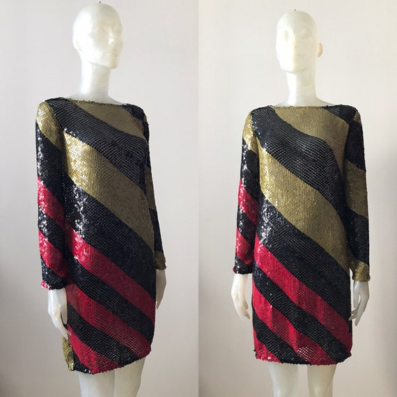 Sonia Rykiel, vintage sequin dress