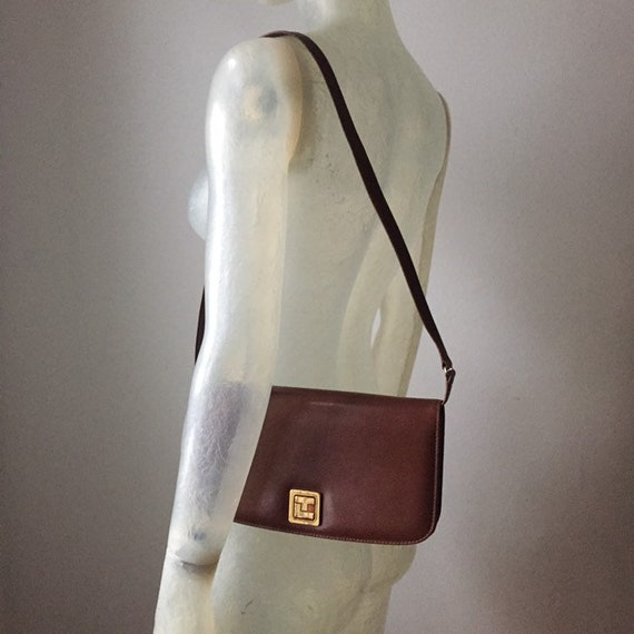 Ted Lapidus, 70s leather bag