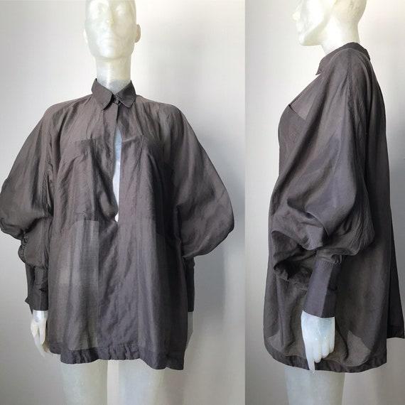Azzedine Alaia, vintage avantgarde blouse