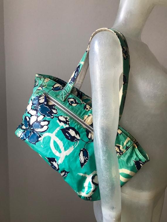 Chanel, vintage beach bag