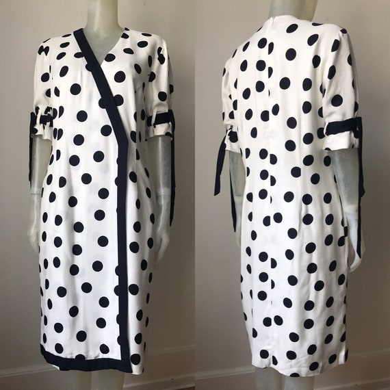 Givenchy, polka dot dress