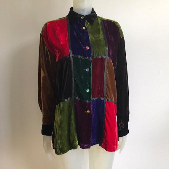 Todd Oldham, 90s velvet shirt
