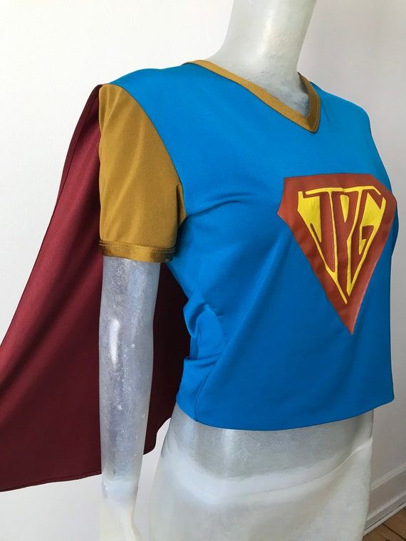 Jean Paul Gaultier, superhero shirt
