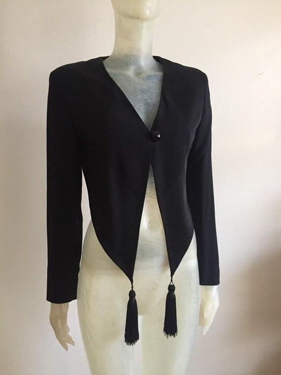 Moschino, 90s tassel blazer