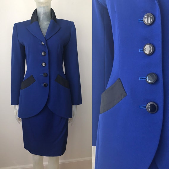 Yves Saint Laurent, vintage wool suit