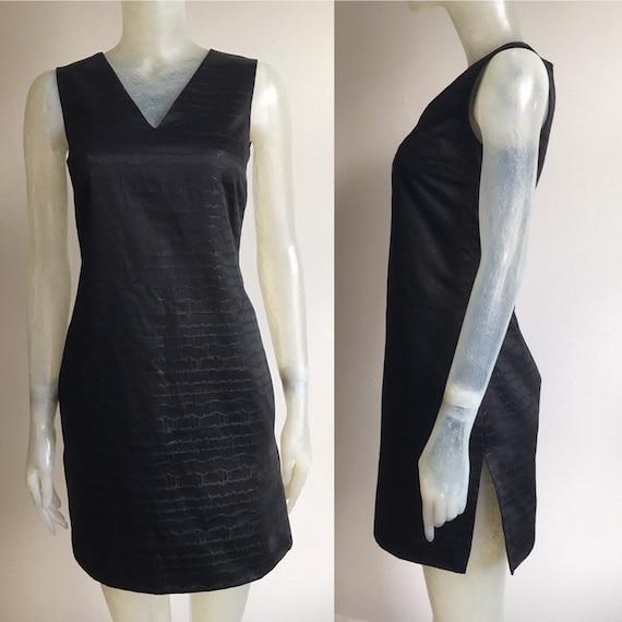 Gianni Versace, little black dress