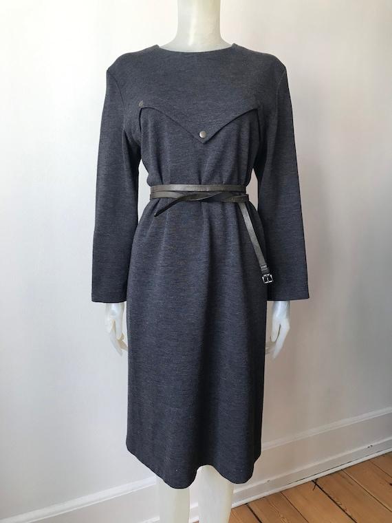Pierre Cardin, vintage wool dress