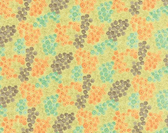 MODA Fabric ~ REFRESH ~ by Sandy Gervais 17864 16 Cloud//Sunset by 1//2 yard