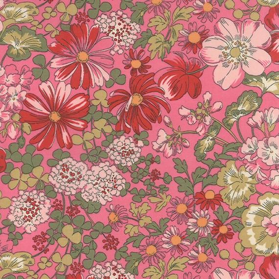 Moda REGENT STREET LAWNS 2016 Claret 33197 16 Fabric By The Yard