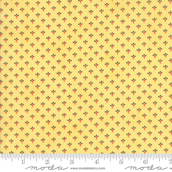 Moda SOMERSET Citron 20232 12 Quilt Fabric Fig Tree /& Co BTY