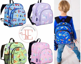 Personalised toddler backpack for younger children
