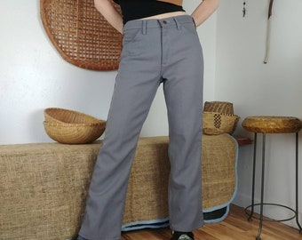 644ac0b7 Vintage Gray Wrangler Polyester Pants! 31W
