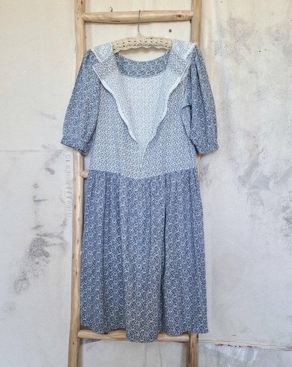 80's Cottagecore Dress Medium - image 10