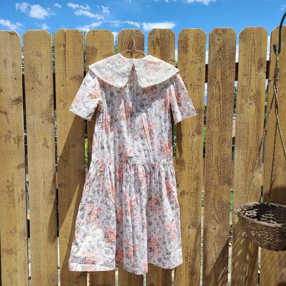 80's Cottagecore Tea Time Dress - image 9