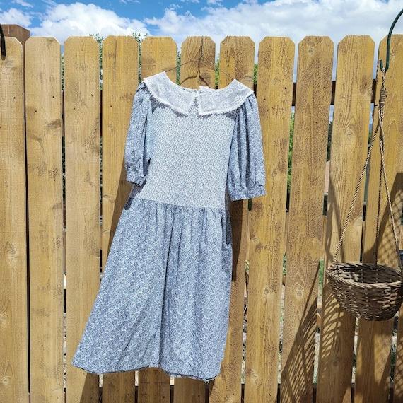 80's Cottagecore Dress Medium - image 1