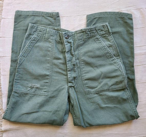 1974 Army OG-107 Cotton Trouser 31W X 28L