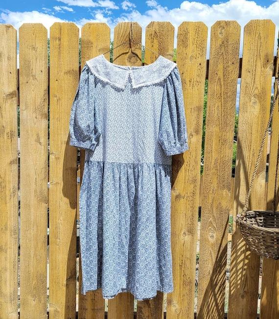 80's Cottagecore Dress Medium - image 3