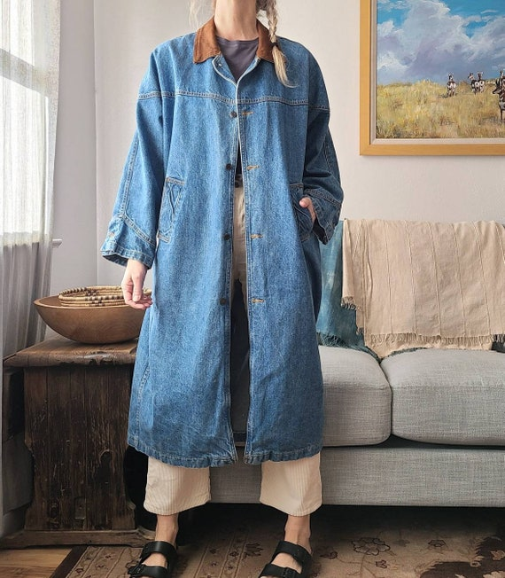 80's/90's Denim Duster