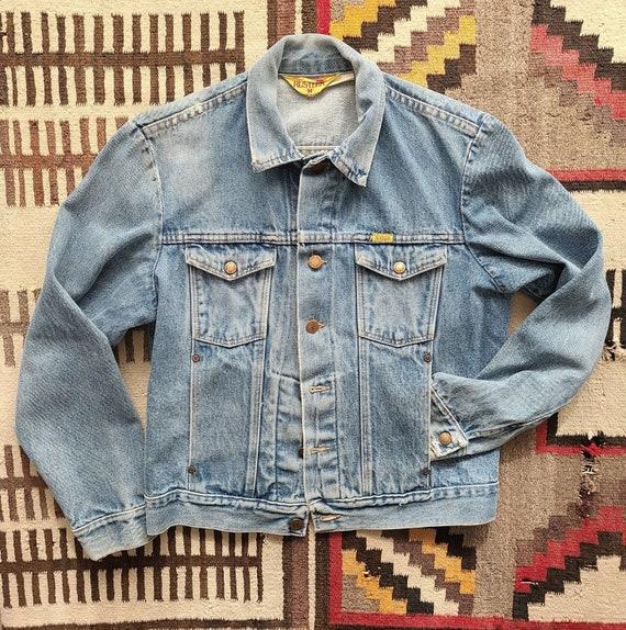 70's Faded Rustler Jean Jacket