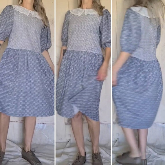 80's Cottagecore Dress Medium - image 5