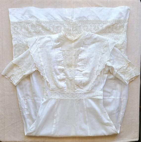 Antique Edwardian Day Dress