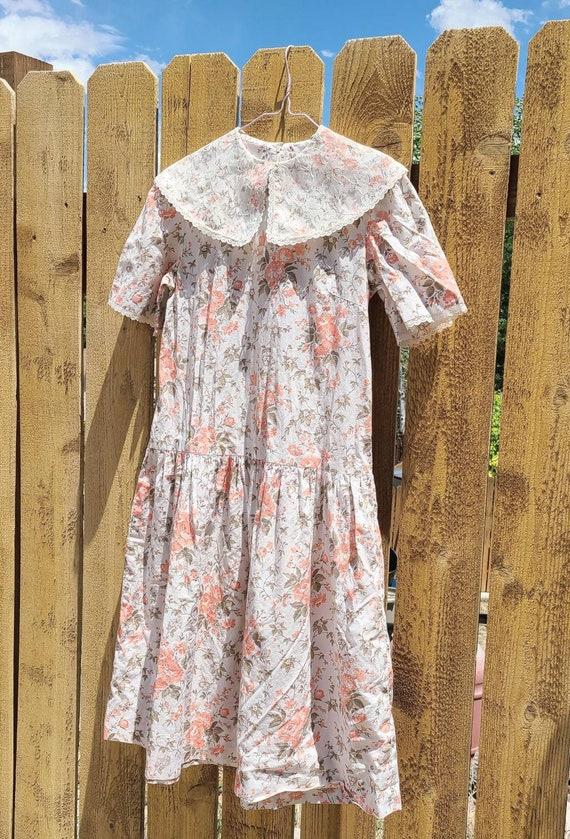 80's Cottagecore Tea Time Dress - image 8