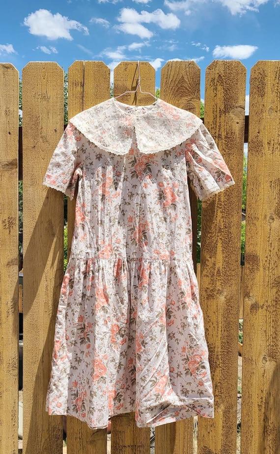 80's Cottagecore Tea Time Dress - image 7