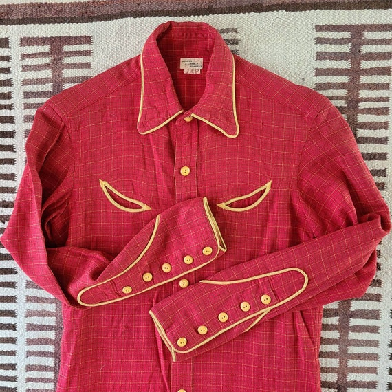 1930's-40's Western Shirt