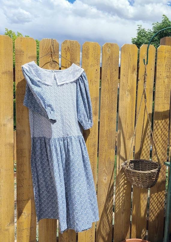 80's Cottagecore Dress Medium - image 4
